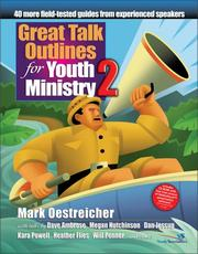Cover of: Great Talk Outlines for Youth Ministry 2
