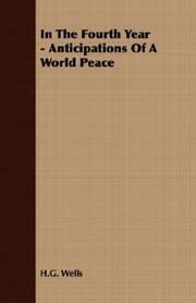 Cover of: In the Fourth Year: Anticipations of a World Peace