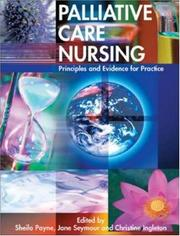 Cover of: Palliative Care Nursing