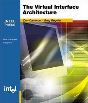 Cover of: Virtual Interface Architecture