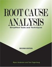 Cover of: Root Cause Analysis