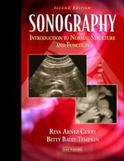 Cover of: Sonography