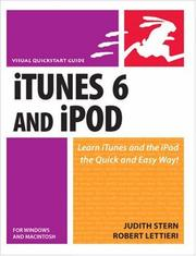 Cover of: iTunes 6 and iPod for Windows & Macintosh (Visual QuickStart Guide)