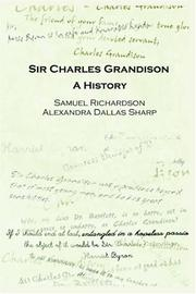 Cover of: Sir Charles Grandison