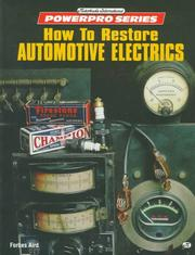Cover of: How to restore automotive electrics