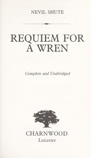 Cover of: Requiem for a Wren