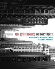 Cover of: Real Estate Finance & Investments + Excel templates CD-ROM (Real Estate Finance and Investments)