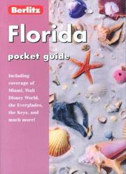 Cover of: FLORIDA POCKET GUIDE, 3rd Edition (Pocket Guides)