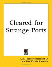 Cover of: Cleared for Strange Ports