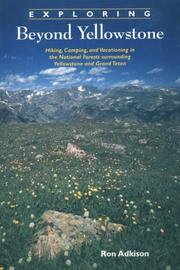 Cover of: Exploring beyond Yellowstone