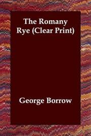 Cover of: The Romany Rye (Clear Print)