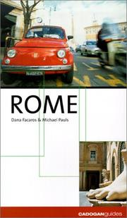 Cover of: Rome (City Guides - Cadogan)