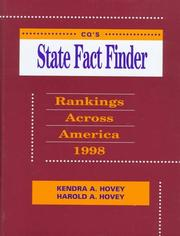 Cover of: Cq's State Fact Finder 1998