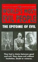 Cover of: World's Most Evil People