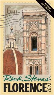 Cover of: Rick Steves' Florence 2003