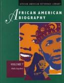 Cover of: African American Biography Volume 7. (African American Biography)