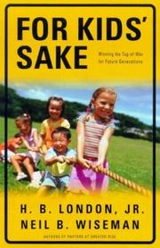 Cover of: For Kids' Sake