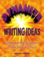 Cover of: Dynamite writing ideas
