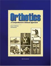 Cover of: Orthotics