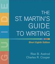 Cover of: The St. Martin's Guide to Writing Short