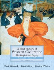 Cover of: A Brief History of Western Civilization