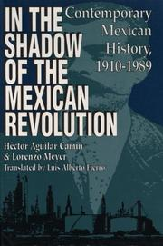 Cover of: In the Shadow of the Mexican Revolution