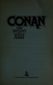 Cover of: Conan the defiant