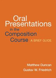 Cover of: Oral Presentations in the Composition Course
