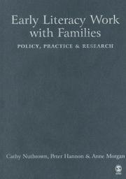 Cover of: Early Literacy Work with Families