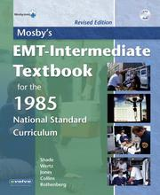 Cover of: Mosby's EMT-Intermediate Textbook for the 1985 National Standard Curriculum
