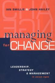 Cover of: Managing for Change