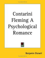 Cover of: Contarini Fleming - a psychological romance
