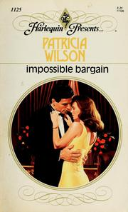 Cover of: Impossible Bargain