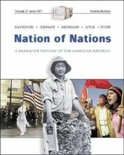 Cover of: Nation of Nations Vol. II w/ Interactive E-Source CD; MP