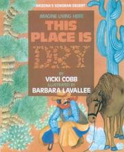 Cover of: This Place Is Dry (Imagine Living Here)