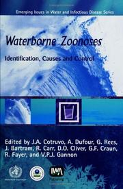 Cover of: Waterborne Zoonoses; Identification, Causes and Control