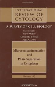 Cover of: Microcompartmentation and phase separation in cytoplasm
