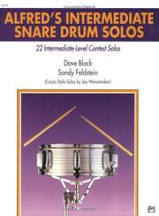 Cover of: Alfred's Intermediate Snare Drum Solos
