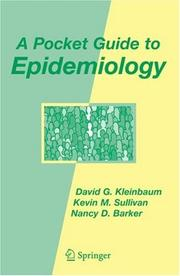 Cover of: A Pocket Guide to Epidemiology