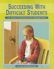 Cover of: Succeeding with Difficult Students