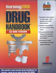 Cover of: Nursing 2000 Drug Handbook (CD-ROM for Windows)