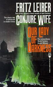 Cover of: Conjure Wife/Our Lady of Darkness (Tor Doubles)