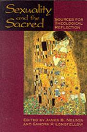 Cover of: Sexuality and the Sacred