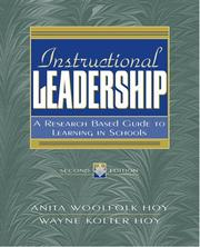 Cover of: Instructional Leadership