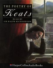 Cover of: The poetry of Keats