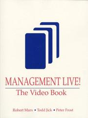 Cover of: Management Live!