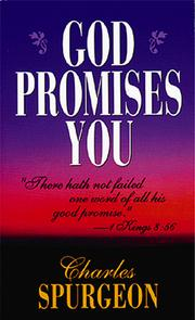 Cover of: God Promises You