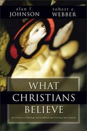 Cover of: What Christians Believe