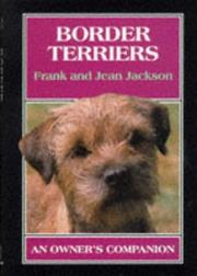 Cover of: Border Terriers