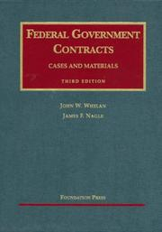 Cover of: Federal Government Contracts